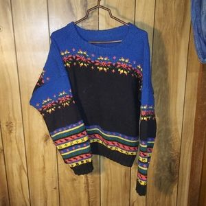 Handmade knit sweater vintage